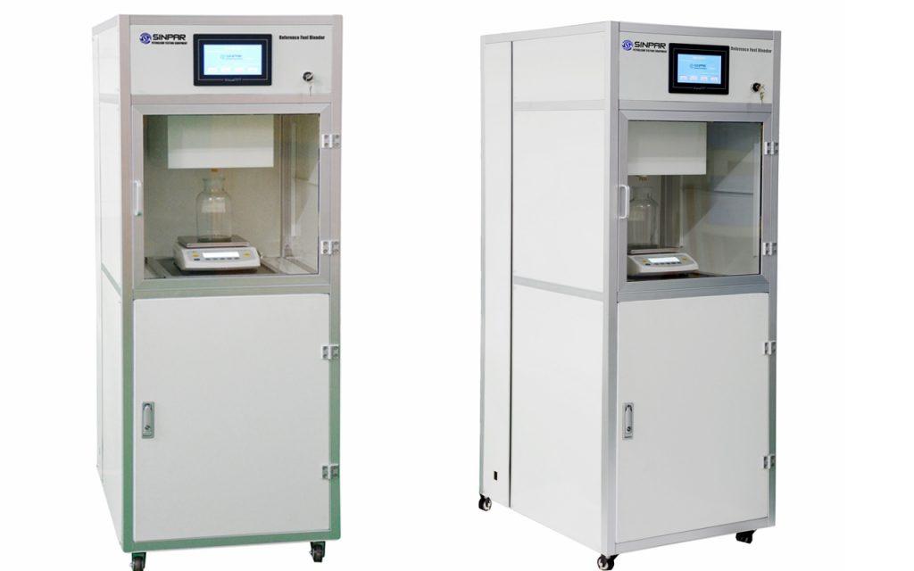ASTM reference fuels blending system unit