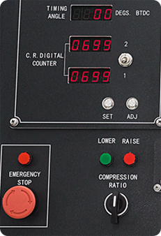C.R. Digital Counter and Ignition Timing