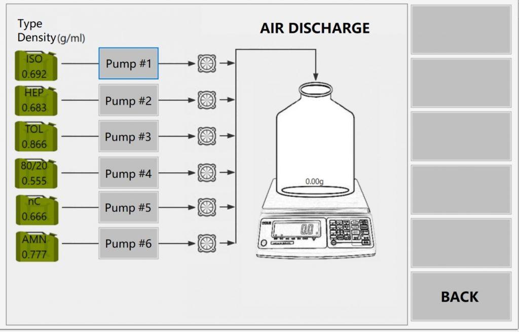 octane cetane reference fuel blending unit